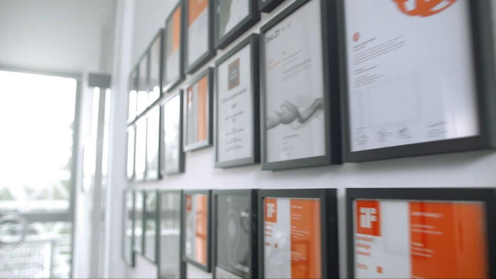 Lamy - Unternehmensfilm - Auszeichnungen