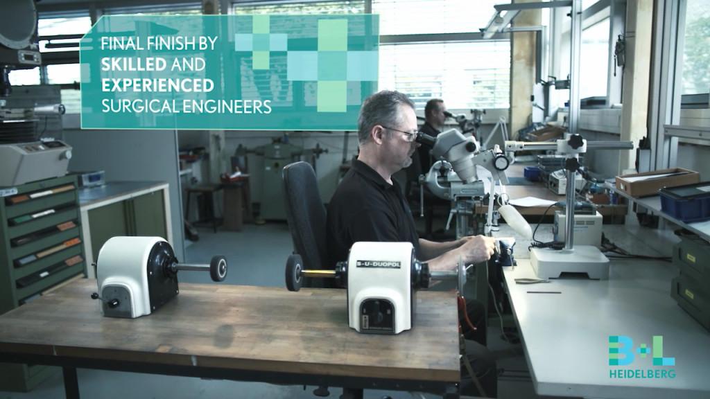 Bausch & Lomb Storz - Unternehmensfilm - Manufaktur