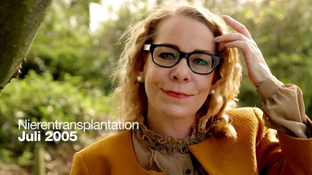 Filmproduktion zum Thema Leben mit Transplantation