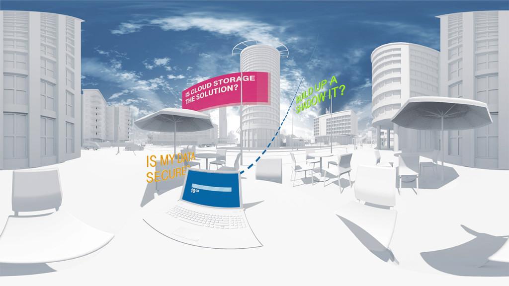 Telekom Secure Data Drive Virtual Reality Video